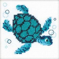 Морская черепаха. Размер - 10 х 10 см.