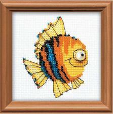 Рыбка. Размер - 10 х 10 см.