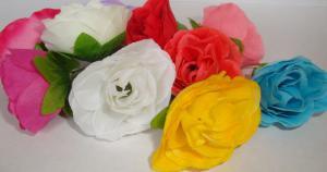 Роза (микс). Размер - 4 см.