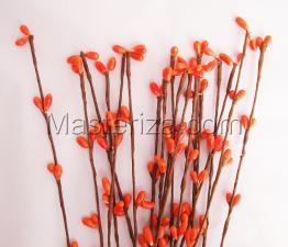 Тычинки на проволоке(оранжевый).