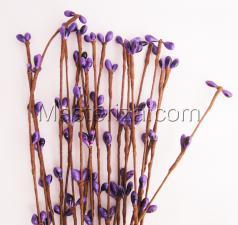 Тычинки на проволоке(фиолетовый).