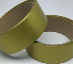 Лента Аспидистра (золото). Ширина 3 см.