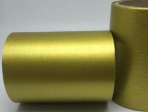 Лента Аспидистра (золото). Ширина 12 см.