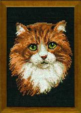 Рыжий кот. Размер - 21х30 см