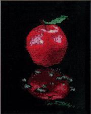 Отражение.Яблоко. Размер - 20 х 20 см.