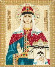 Св. Анна Новгородская. Размер - 29 х 35 см.
