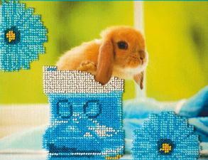 Кролики-3. Размер - 23 х 18 см.