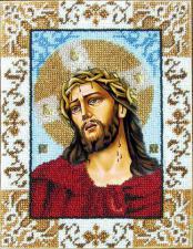 Иисус в терновом венце. Размер - 18 х 24 см.