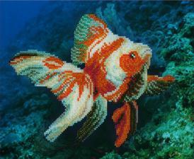 Золотая рыбка. Размер - 27 х 22 см.