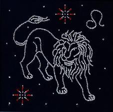 """Знак зодиака """"Лев"""". Размер - 18 х 18 см."""