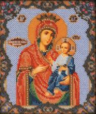 Иверская Богородица. Размер - 20 х 24 см.