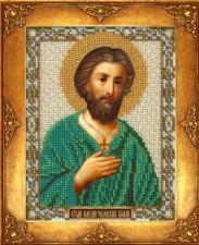 Святой Алексий. Размер - 12,5 х 16,3 см.