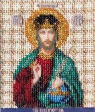 Икона Господа Иисуса Христа. Размер - 9 х 11 см.