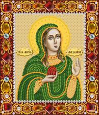 Святая Равноап.Мария Магдалина. Размер - 13 х 15 см.