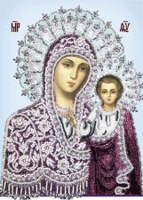 Богородица Казанская. Размер - 20 х 28 см.