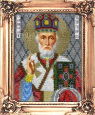 Святитель Николай Чудотворец. Размер - 12 х 16 см.