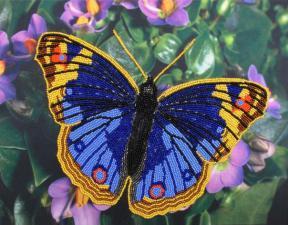 Бабочка 2. Размер - 32 х 25 см.