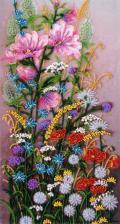Полевые цветы. Размер - 21 х 38 см.