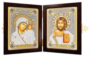 Богородица Казанская и Христос Спаситель.