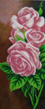 Розы. Размер - 17 х 40 см.