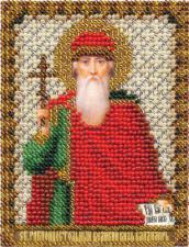 Икона Равноап. князь Владимир. Размер - 8,5 х 10,5 см.