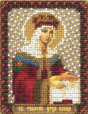 Икона Св. Равноап. царица Елена. Размер - 8,5 х 10,5 см.