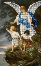 Ангел Хранитель-1. Размер - 11 х 17,6 см.