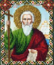 Икона св.ап. Андрей Первозванный. Размер - 9 х 11 см.