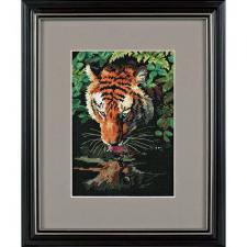 Роскошный тигр. Размер - 13 х 18 см