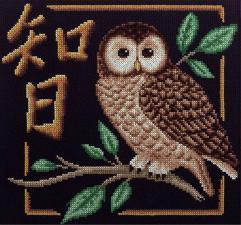 Символ:Мудрость. Размер - 25 х 24,5 см.