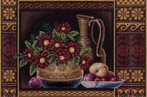 Цветы для Афродиты. Размер - 43,5 х 30 см.