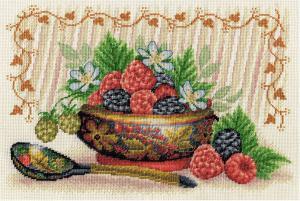 Садовые ягоды. Размер - 30 х 21 см.