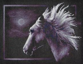 Лунный конь. Размер - 30,6 х 23,5 см.