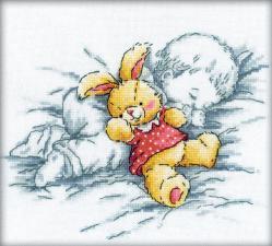 Сладкий сон. Размер - 20 х 18 см